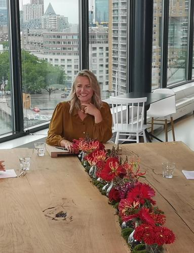 Talkshowhost Suzan Vink